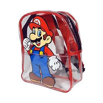 Nintendo Super Mario Bros. Mochila infantil BIO-BP156531NTN Transparente 5.9 liters: Amazon.es: Equipaje