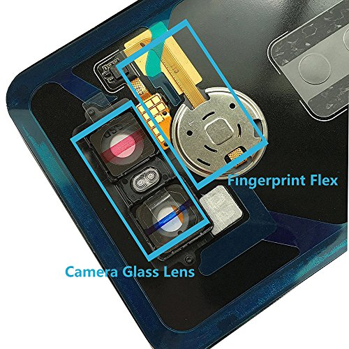 Alovexiong Rear Back Battery Glass Cover Full Housing Panel