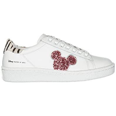 Moa Master of Arts Disney Mickey Mouse Zapatillas Deportivas Mujer White/Pink 37 EU: Amazon.es: Zapatos y complementos