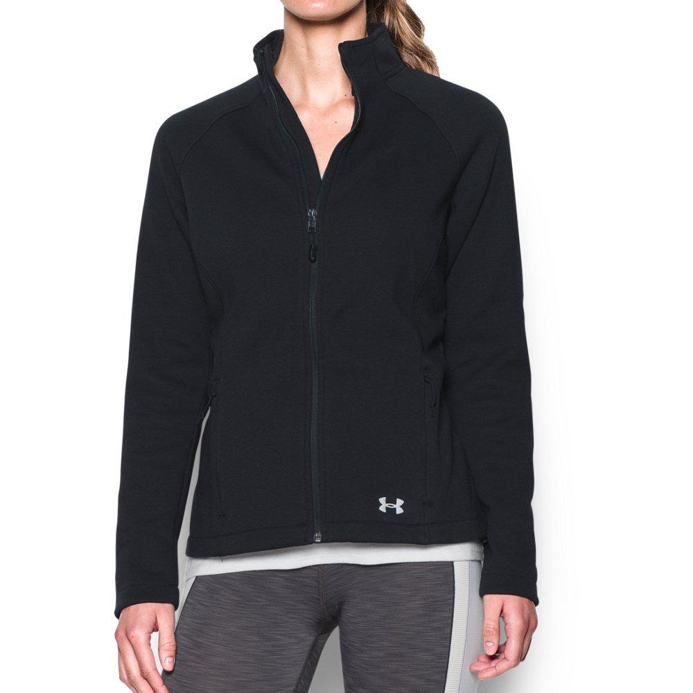 Under Armour Women's Granite Jacket, Black/Black, Large