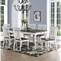 7-Piece Joanna JA500TS7PC Two-Tone Dining Set
