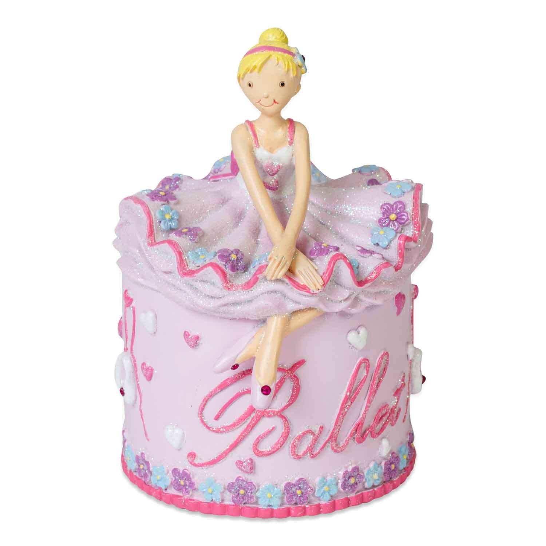 Tirelire Ballerine en céramique - tirelire rose pour jeune fille - Lucy Locket product image
