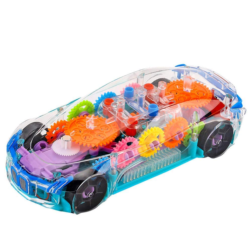 Buy Usv 360 Degree Rotation 3d Super Car Toy For Kids Boys Girls Online At Low Prices In India Amazon In