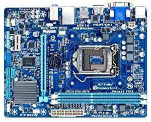 Gigabyte Ultra Durable 4 Classic GA-H61M-USB3H Desktop Motherboard - Intel H61 Express Chipset - Socket H2 LGA-1155