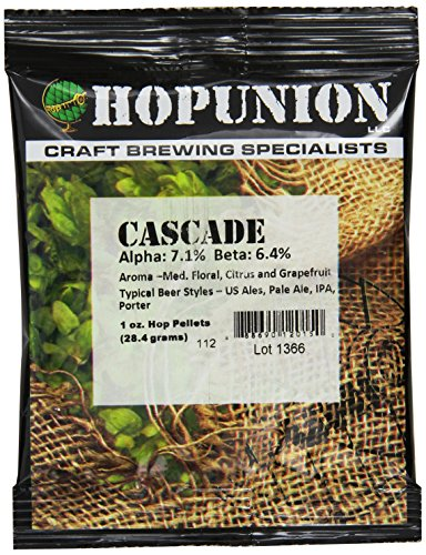 Cascade Hop Pellets for Home Brewing 3 oz. -