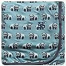 KicKee Pants Swaddling Blanket, Jade Panda