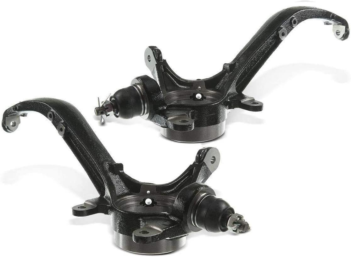 Set of 2 Front Steering Knuckle Replacement for Honda Accord 2008-2012 Acura TSX 2009-2014