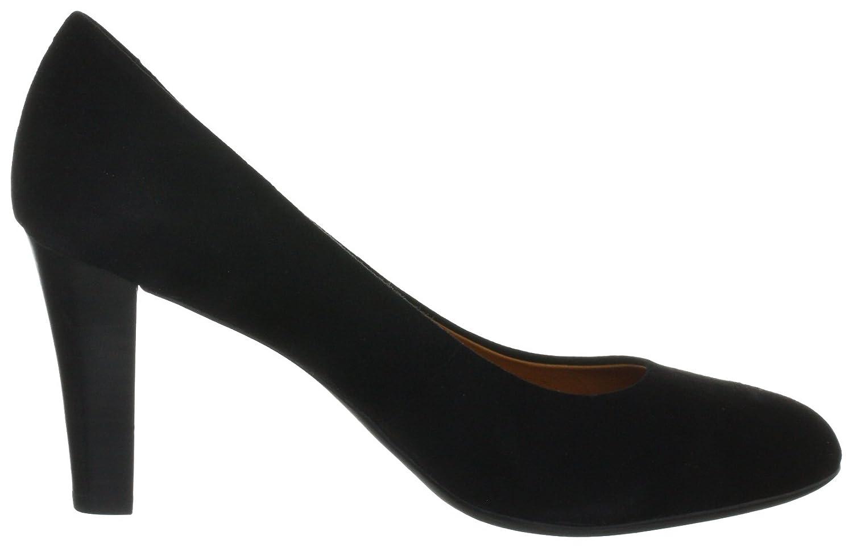 Geox Damens MARIAN Klassische Pumps Schwarz Schwarz Pumps (schwarz C9999) 3ca4bf