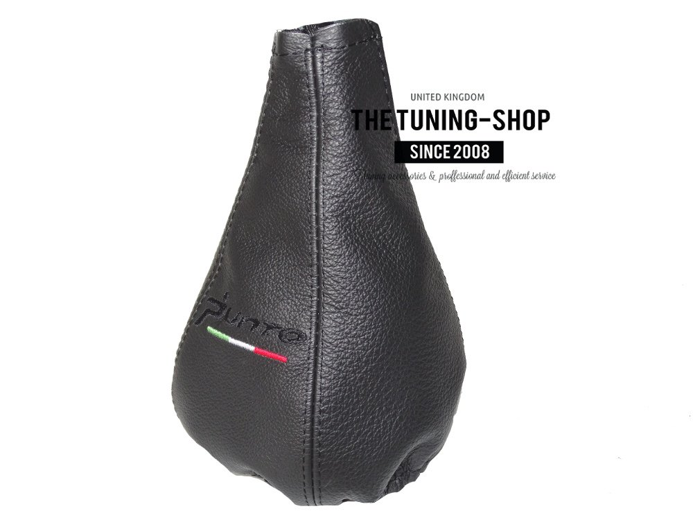 The Tuning Shop Gear Gaiter Leather Embroidery
