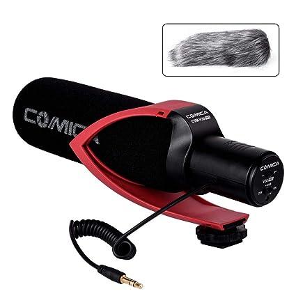 Comica CVM-V30 PRO cámara micrófono supercardiode direccional ...
