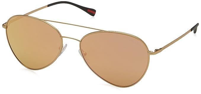 Amazon.com: anteojos de sol Prada Linea Rossa PS 50 SS ...