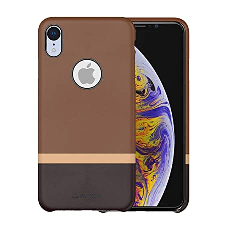 new product 9e20c e573a Stuffcool JOLIIP61 Mobile Case Cover for Apple iPhone XR (Brown-Dark Brown)