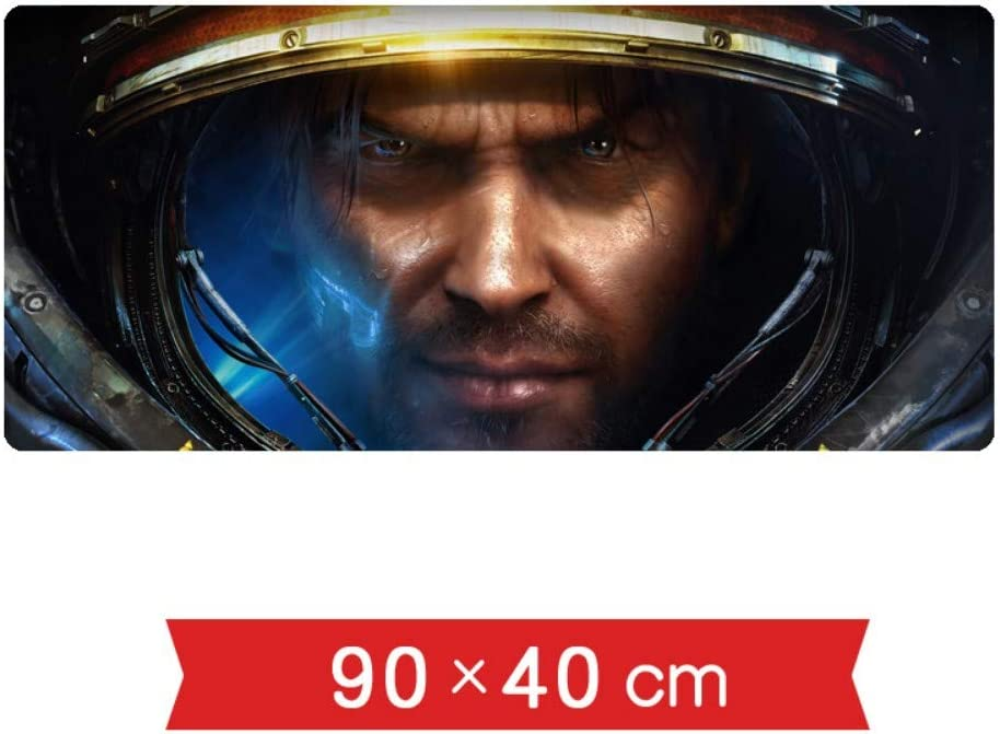 IGZNB Juego De La Velocidad De Starcraft 2 Alfombrilla De Ratón | 900 X 400 Mm |Tapete De Ratón XXL |Base De Mesa De Gran Tamaño |Precisión Y Velocidad, L: Amazon.es: Electrónica