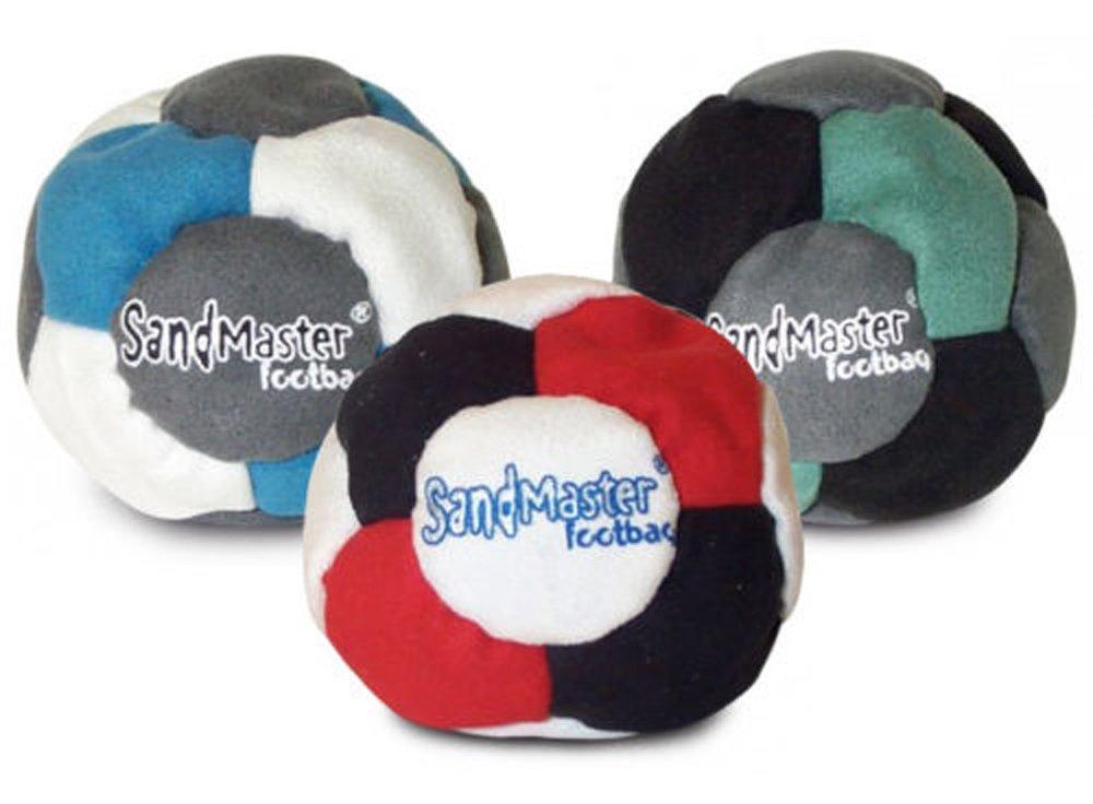 SandMaster Footbag Hacky Sack 3 pack
