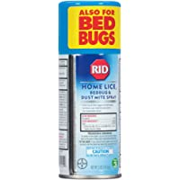Rid Home Lice, Bedbug And Dust Mite Spray - 5 Ounces