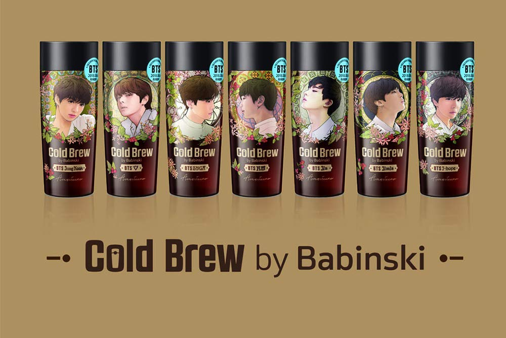 Cold Brew BTS Edition_270ml (7ea) by Korea Yakult (Image #1)