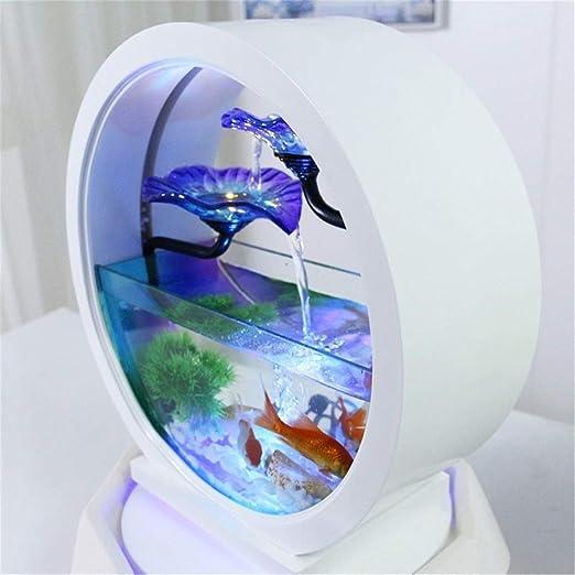 HeKai Característica de decoración de Mesa Fuente de Lirio de Agua ...