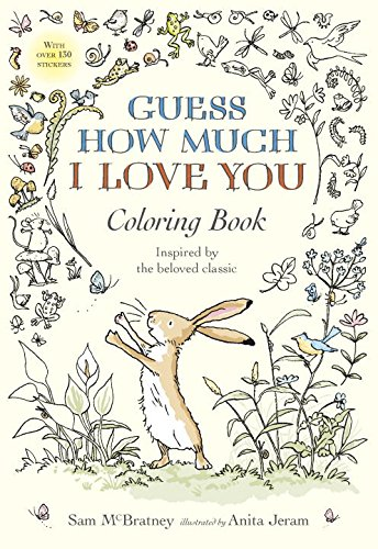 Heck Of A Bunch: Guess How Much I Love You Coloring Book ...
