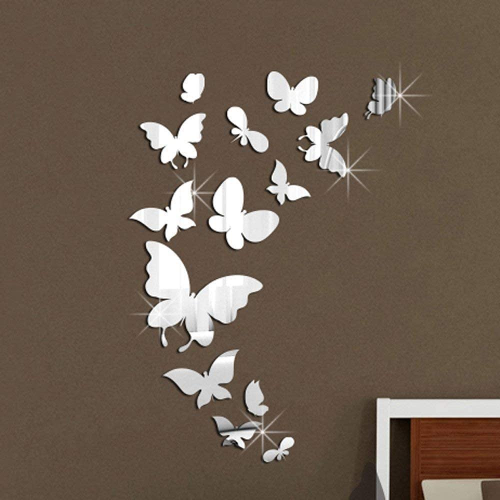 20 x Butterfly Vinyl stickers Decal Mural Crafting Cardmaking Wall Mirror Window