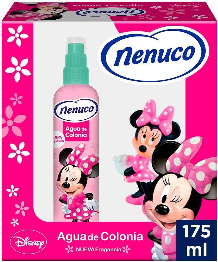 Nenuco Pack Agua de Colonia Infantil Bebé Minnie con Muñeco - 175 ml: Amazon.es: Belleza