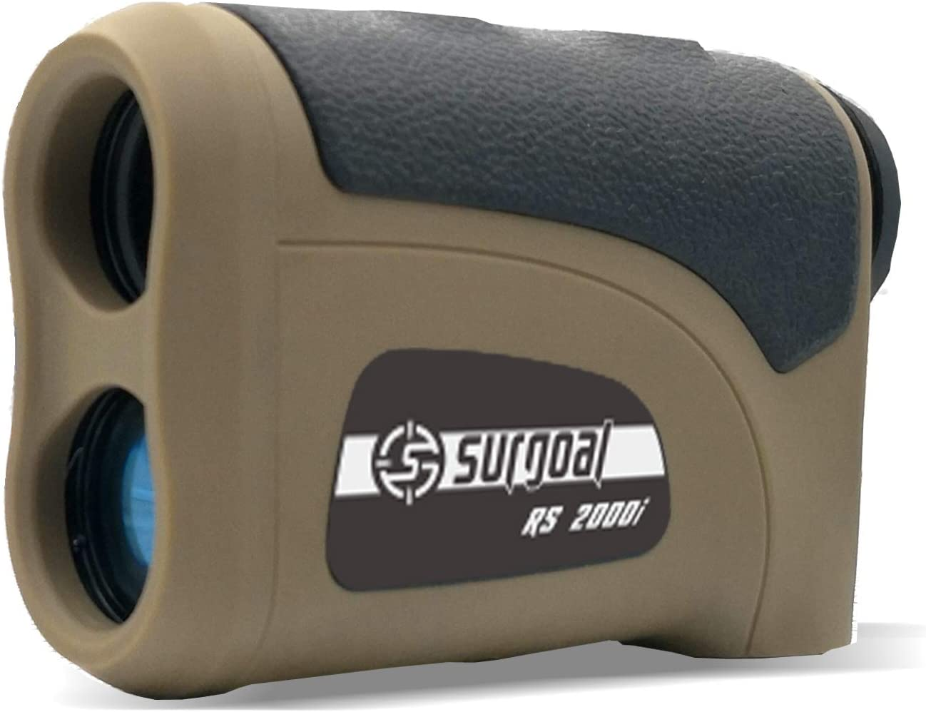 Surgoal Waterproof Laser Range Finder 2000YD/6000FT/1828M(i Plus) (Brown) High Accuracy All Purpose