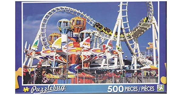 Hoyle 500pc Puzzle The Roller Coaster