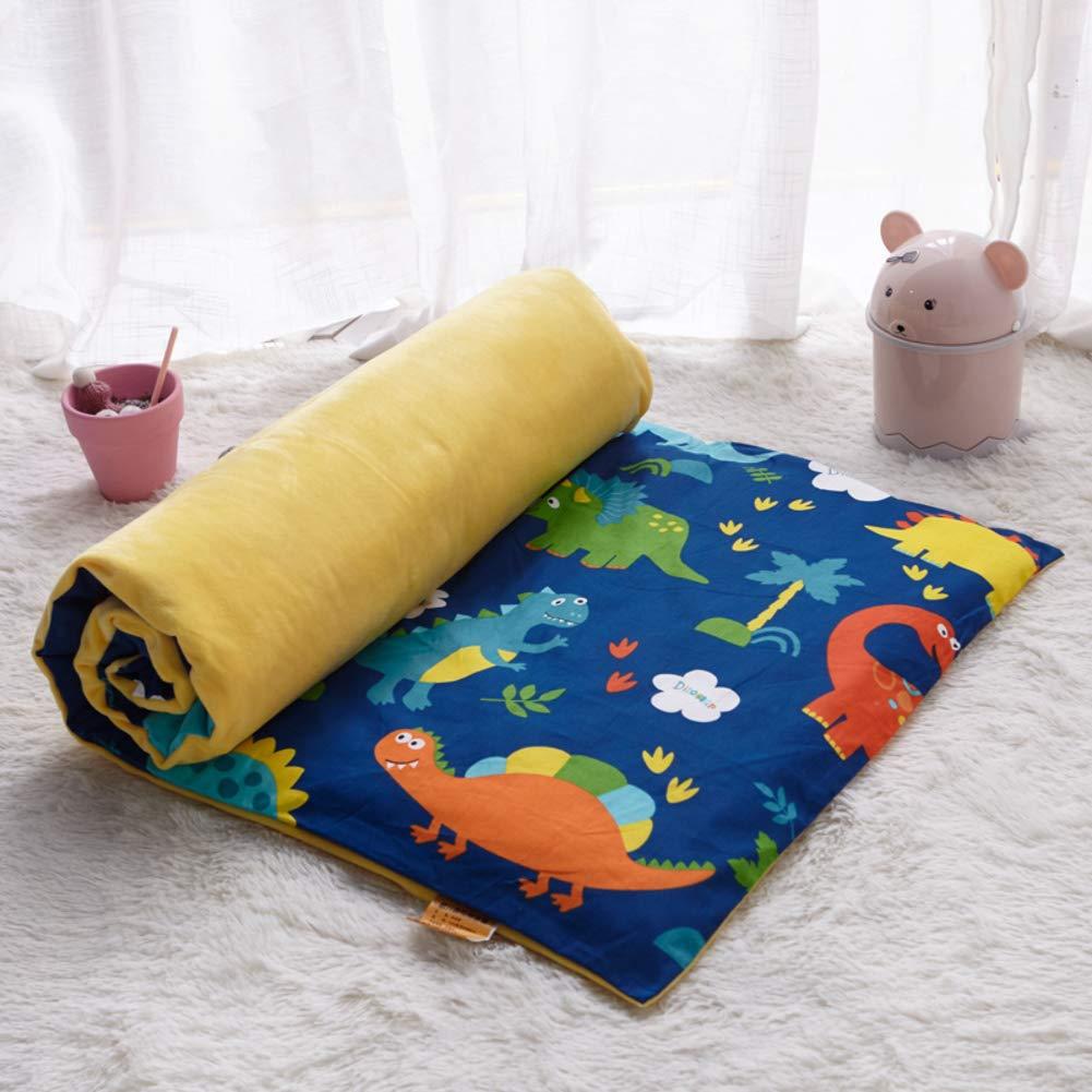 D&LE Baby Verdicken sie Matratze, Krippe Matratze Topper Folding 4cm Atmungsaktive Weiche Reversible Matratze-I 70x150cm