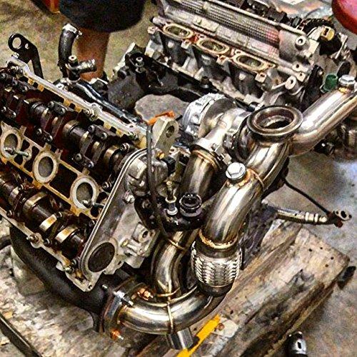 Amazon.com: B5 S4 AUDI 2.7 Single Turbo Kit PTE TURBO flange Upgrade: Automotive