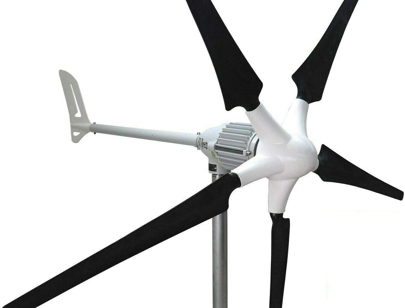 Ista Breeze i-1500W 48V Black - Version 5 Blade Windgenerator, Wind Turbine