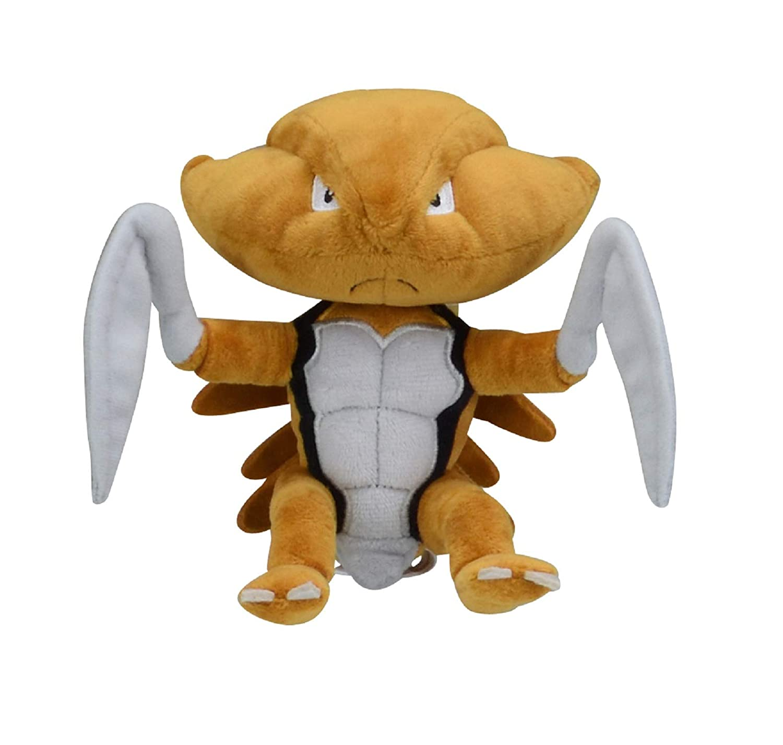 Pokemon Center Original Plush Doll fit Kabutops 1116