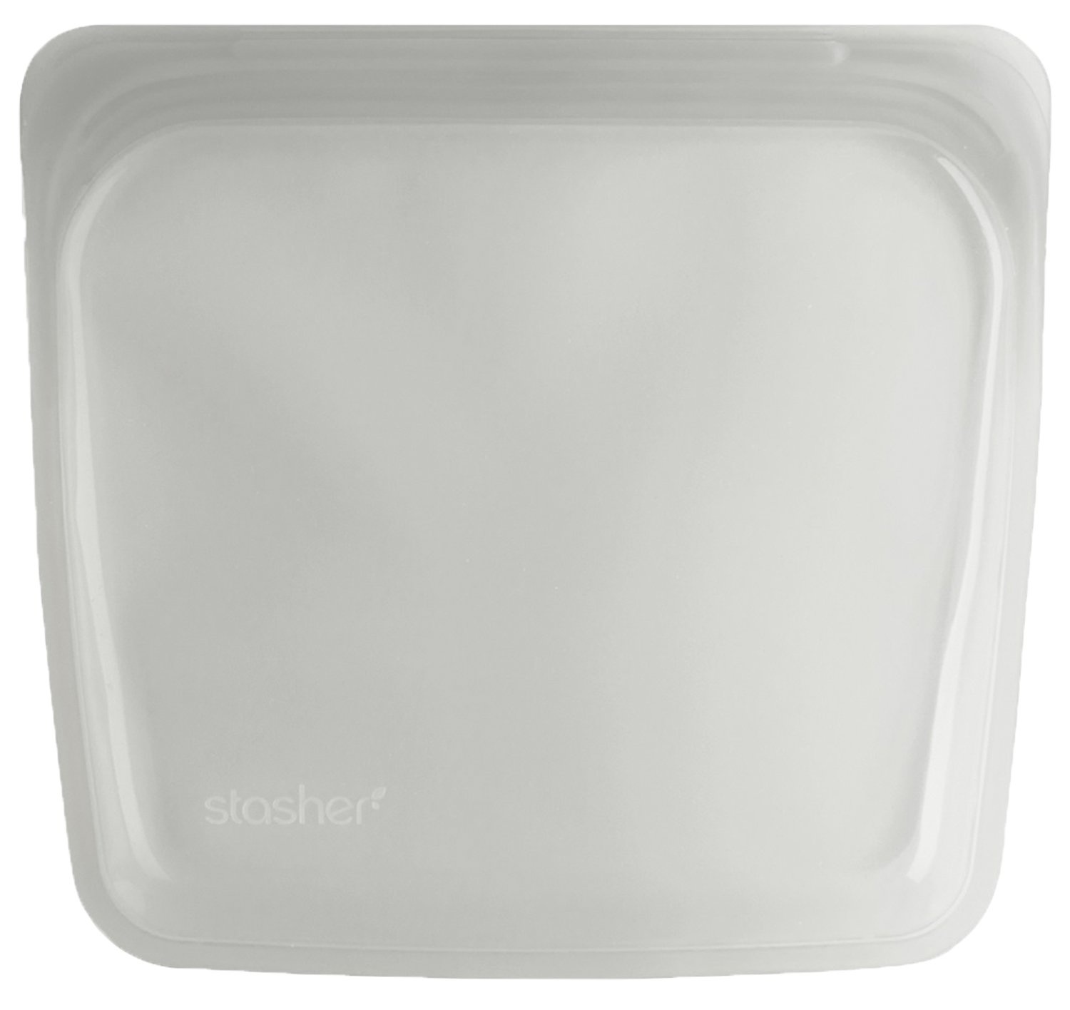 Stasher Reusable Silicone Food Bag, Sandwich Bag, Sous vide Bag, Storage Bag, Clear by Stasher