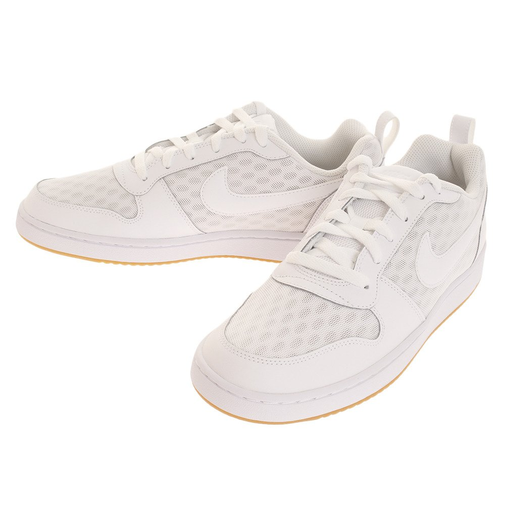 Nike Nike Court Borough Low Se - white/white-black-gum light br  44|Blanco (White / White-White)
