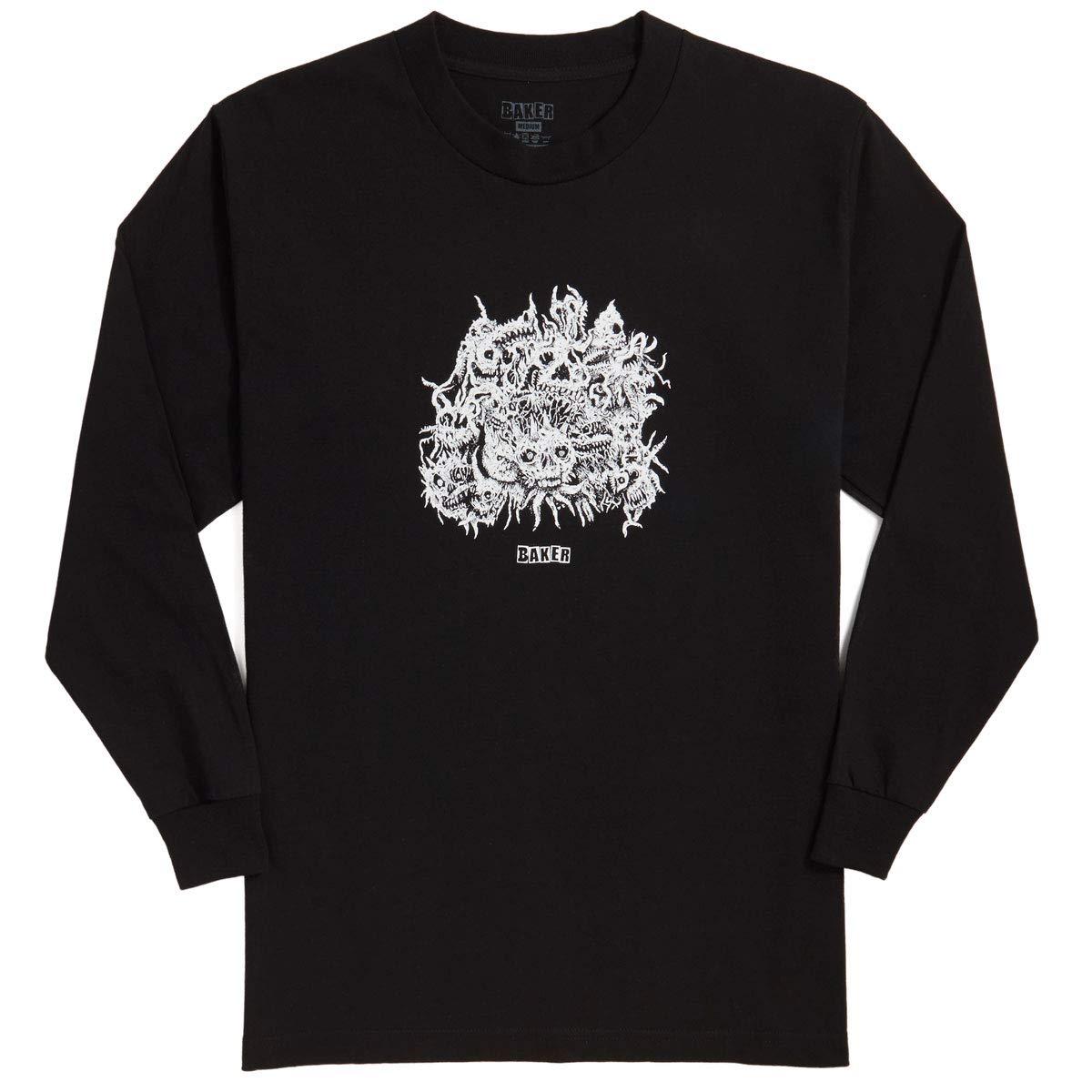 Black Baker Metal Long Sleeve T-Shirt