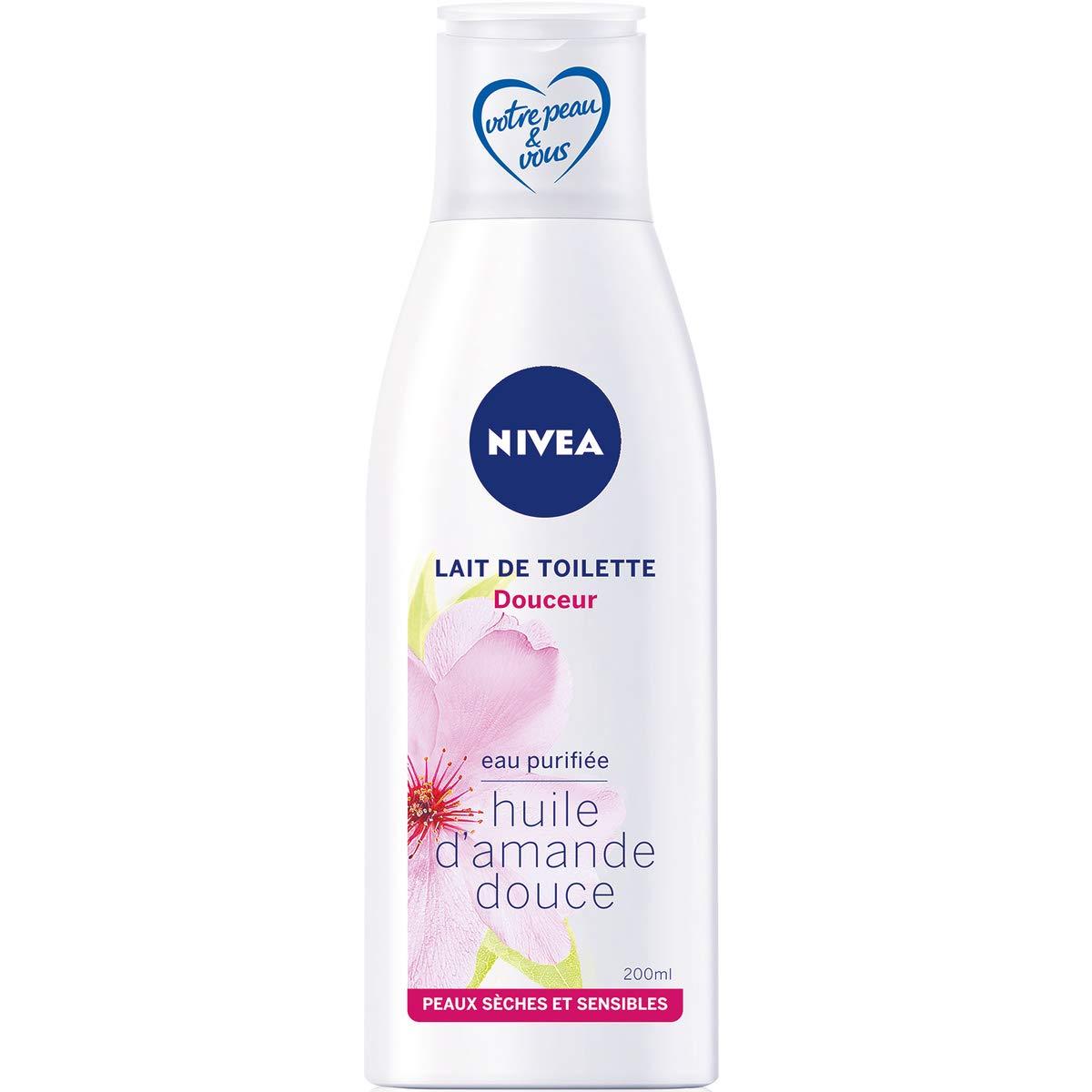 NIVEA Lait Douceur Peaux Sèches 200 ml - Lot de 2 811030540008