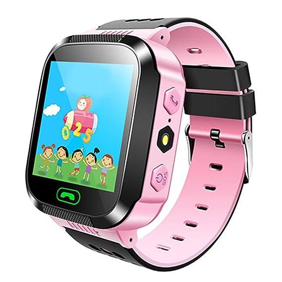 Smartwatch de GPS para niños, Hongtianyian reloj inteligente anti-perdida Touch de 1.44 pulgadas