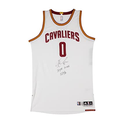 best loved 80917 e7a9d KEVIN LOVE SIGNED & INSCRIBED CLEVELAND CAVALIERS ADIDAS ...