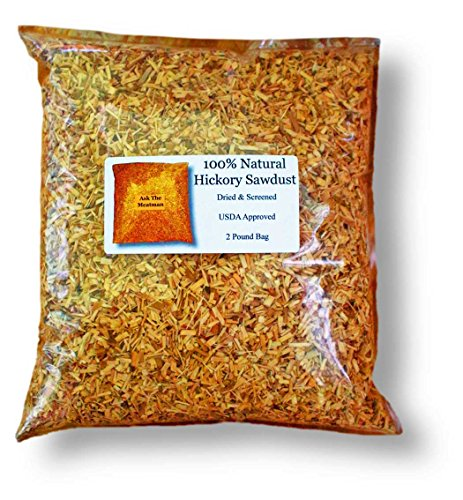 Natural Hickory Sawdust (2.0 Lb)