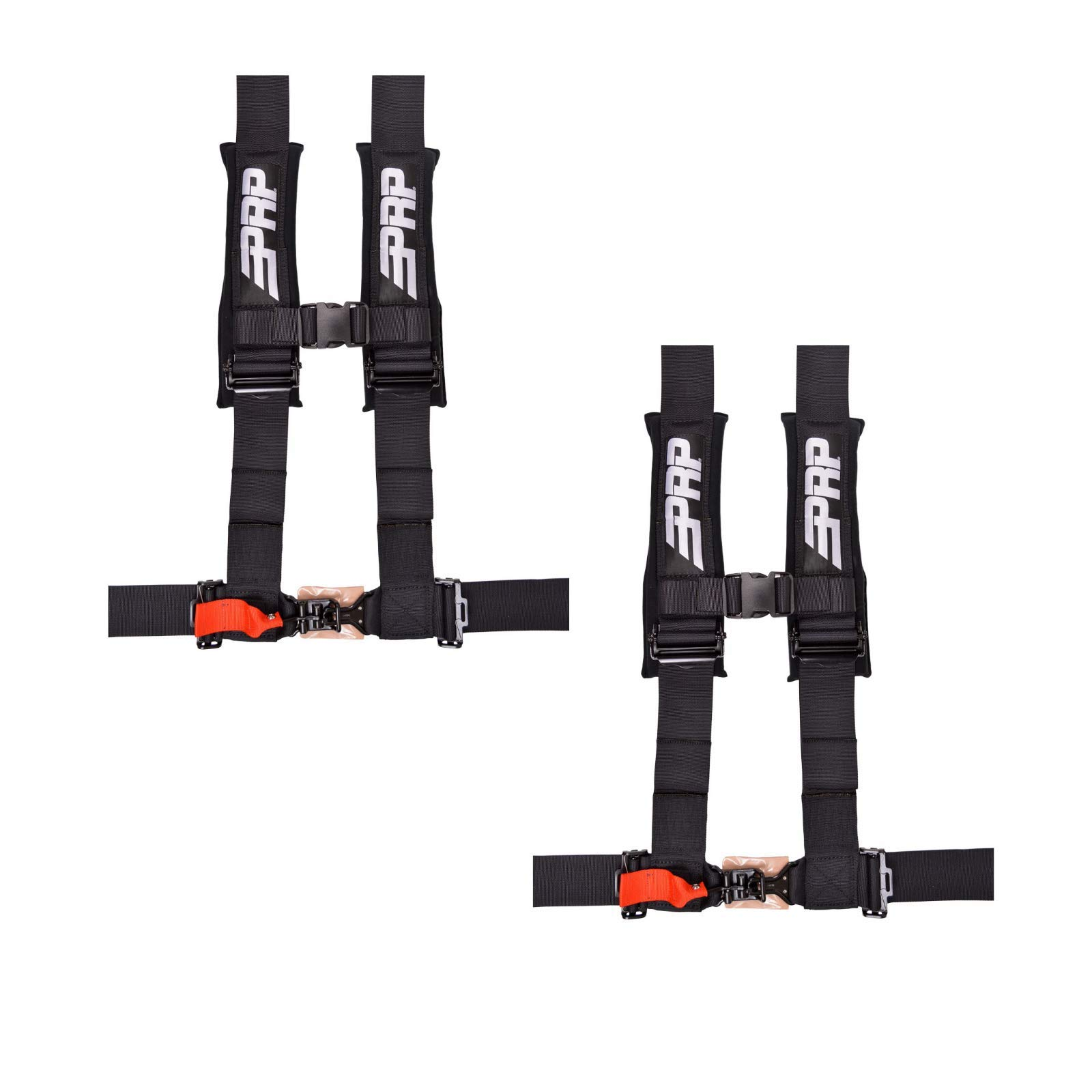 PRP 3'' Black 4 Point Harness SB4.3 (Set of 2)