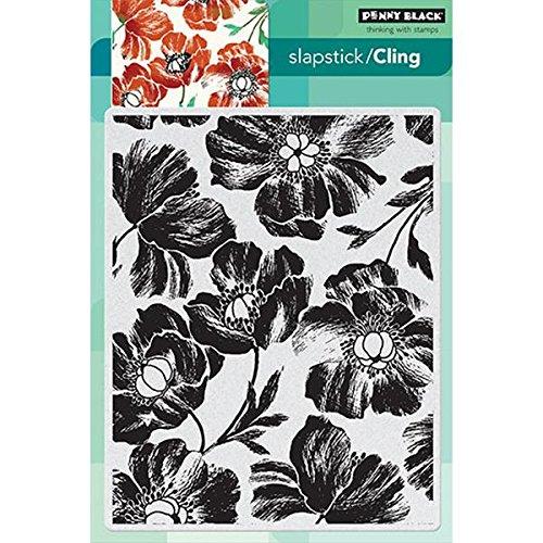 Penny Schwarz Selbst Gummi Stempel 12,7 cm x 19,1 cm Sheet-Poppy Muster B00I4S5FGE | Produktqualität  | Moderater Preis  | Guter Markt