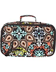 Vera Bradley Blush & Brush Makeup Case