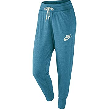 Nike – Pantalón de chándal – Pantalón Gym Vintage, Turquesa ...