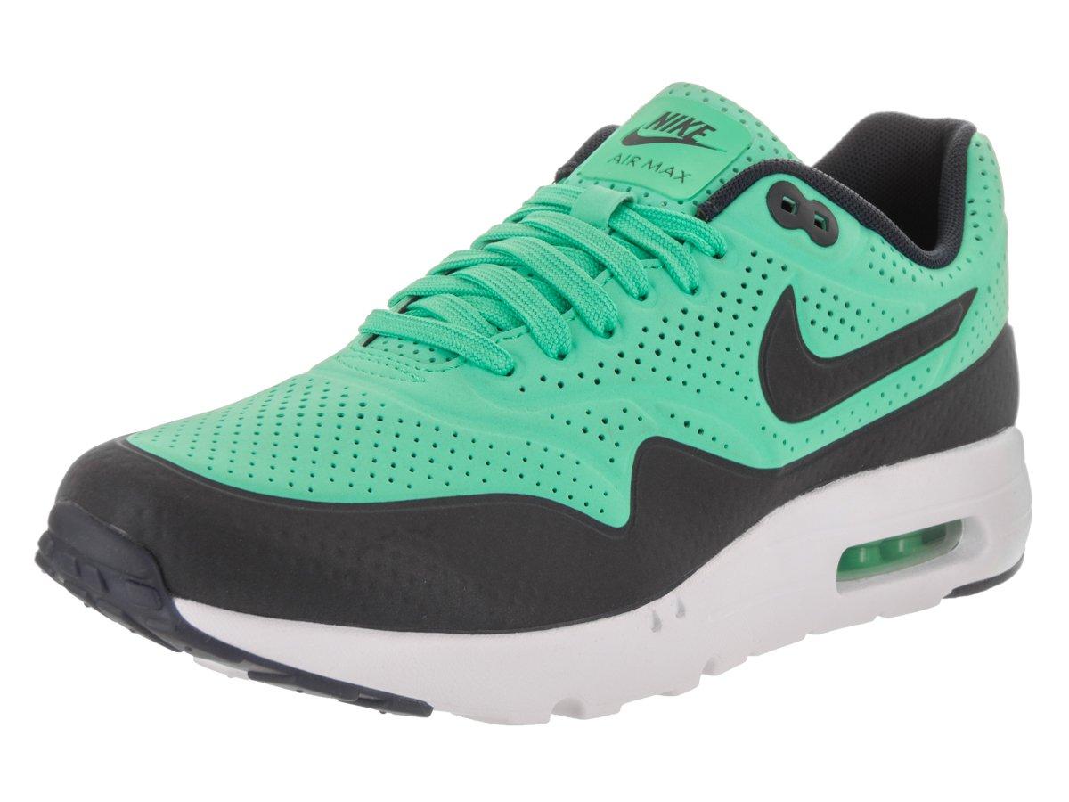 Nike Air Max 1 Ultra Moire Herren Sneakerss  US 8.5| UK 7.5 |EU 42|Wei? (Menta/White/Black)