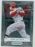 Jose Altuve baseball card (Houston Astros All Star) 2012 Prizm Chrome #55 Rookie Season