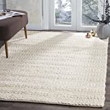Safavieh Natural Fiber Collection NF212D Bleach Area Rug, 9' x 12'