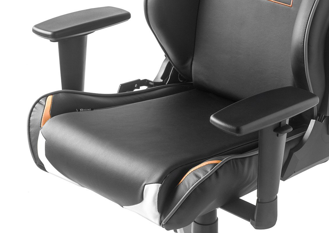 DX Racer10 62540CO4 - Silla de Oficina para Gaming, diseño de Call of Duty, 69 x 125-140 x 53 cm, Color Negro/Naranja: Amazon.es: Hogar
