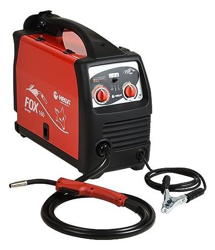 Helvi 99820018 Soldador inverter multiprocesso Fox 160 230 V, 230 V, Rojo, Negro