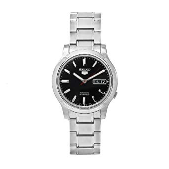 Seiko Watches SNK795K1S - Reloj de Pulsera Hombre, Acero Inoxidable, Color Plata: Amazon.es: Relojes