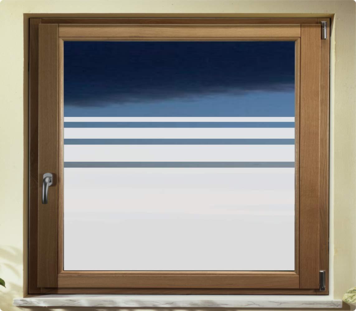 Rs Interhandel E650 Sichtschutzfolie Glasdekor Bad Fensterfolie