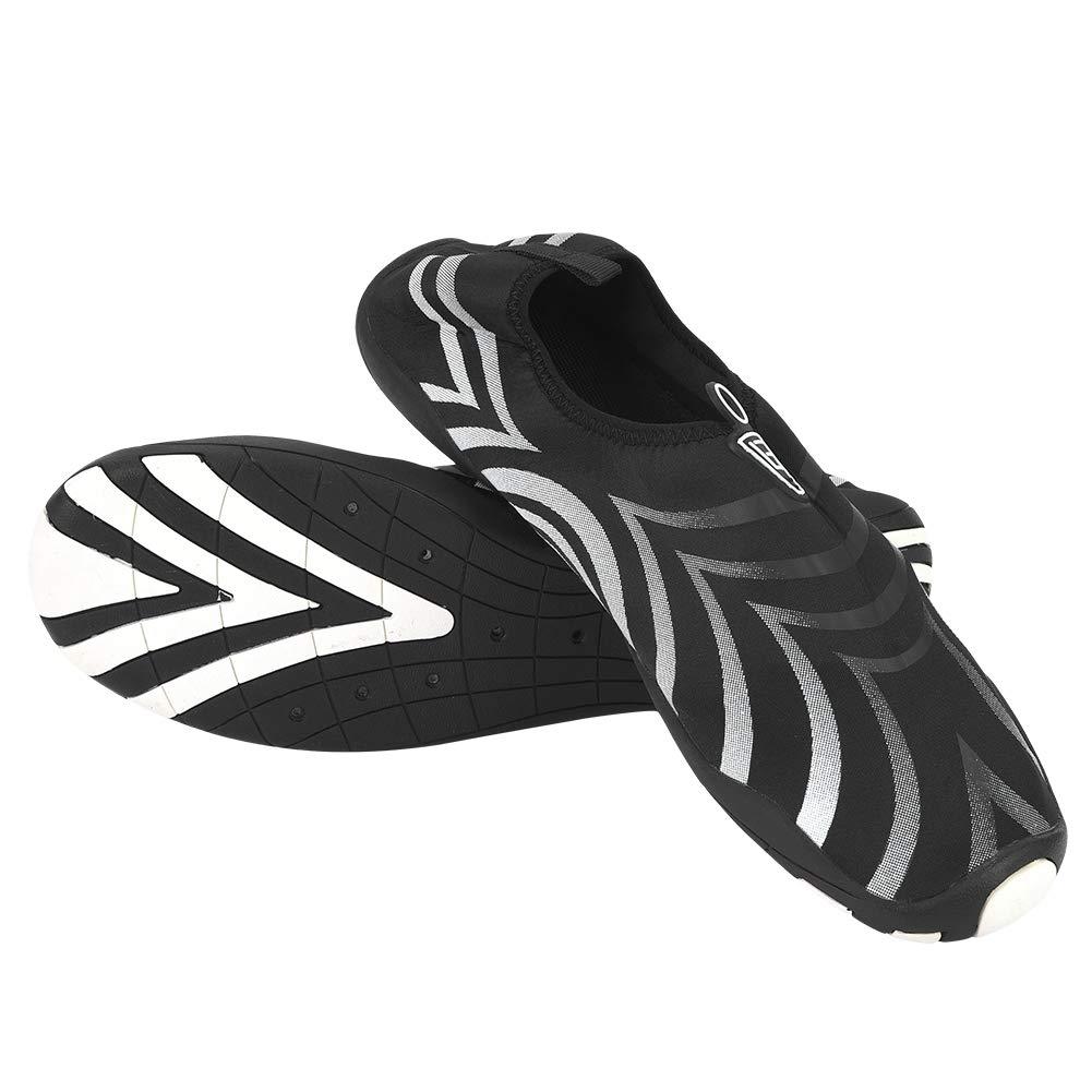 SolUptanisu Zapatos de Agua de Nataci/ón para Hombre Zapatillas Snorkel Antideslizantes Suave Calzado de Agua de Secado R/ápido Ligeros para Surf Playa Senderismo Pesca Piscina