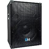 Grindhouse Speakers - GH15L - Passive 15 Inch 2-Way PA/DJ Loudspeaker Cabinet - 800 Watt Full Range PA/DJ Band Live Sound Speaker